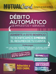 Novedad 6 - Débito Automatico